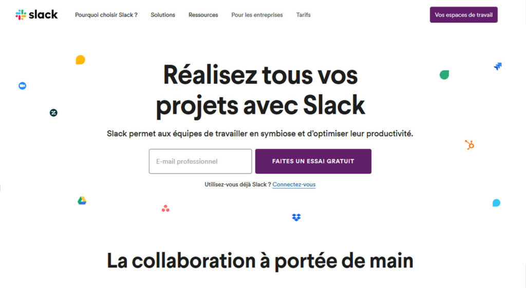 L'inbound marketing par slack